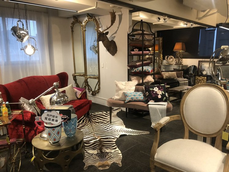 寬庭倉庫提供消費者、設計師一個找靈感的空間。記者劉小川/攝影