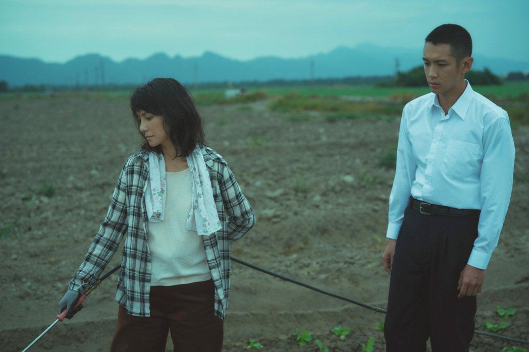 李心潔(左)、柯震東(右)將在新片「鱷魚」談姐弟戀。圖/滿滿額提供