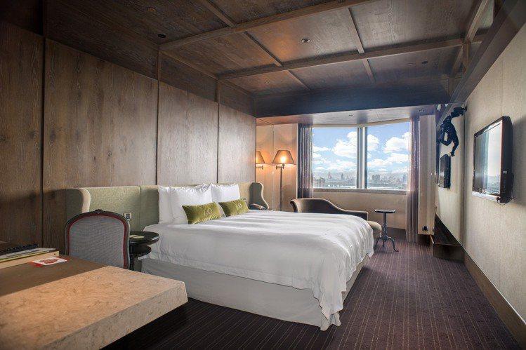君品酒店推出雅致客房住宿券,平日入住可升等豪華客房 。圖/雲朗觀光提供