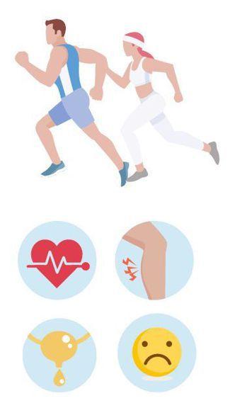身體出現4種跡象,可能代表運動過度。圖/123RF