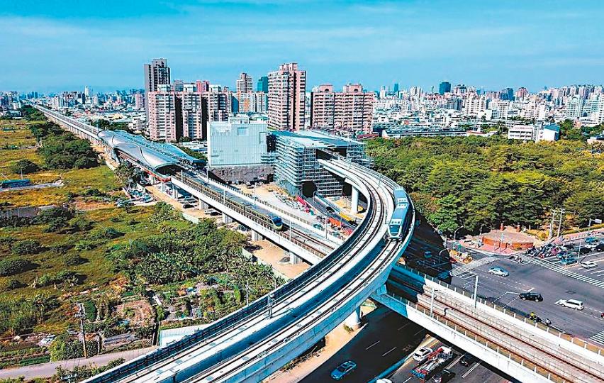 台中捷運綠線通車,沿線重劃區轉熱。圖╱本報資料照片