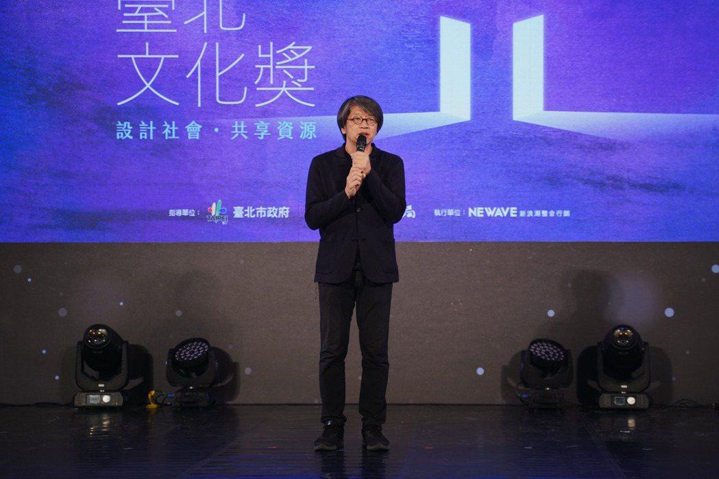 建築師龔書章榮獲第24屆臺北文化獎。 圖/沈佩臻攝影
