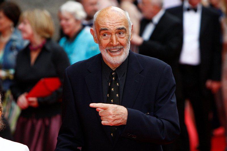 英國廣播公司報導,英國演員史恩康納萊(Sir Sean Connery)31日去世,享耆壽90歲。 路透社