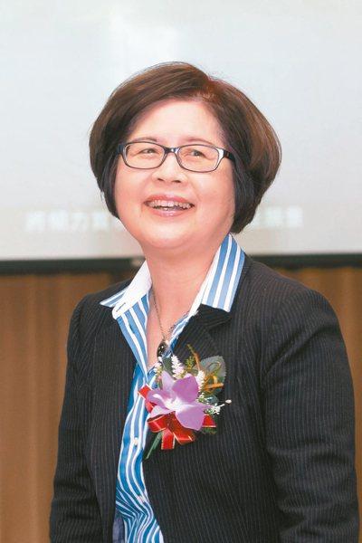 財政部昨天核定第一金控暨第一銀行新任董事長,由現任台灣銀行總經理邱月琴(圖)升任...