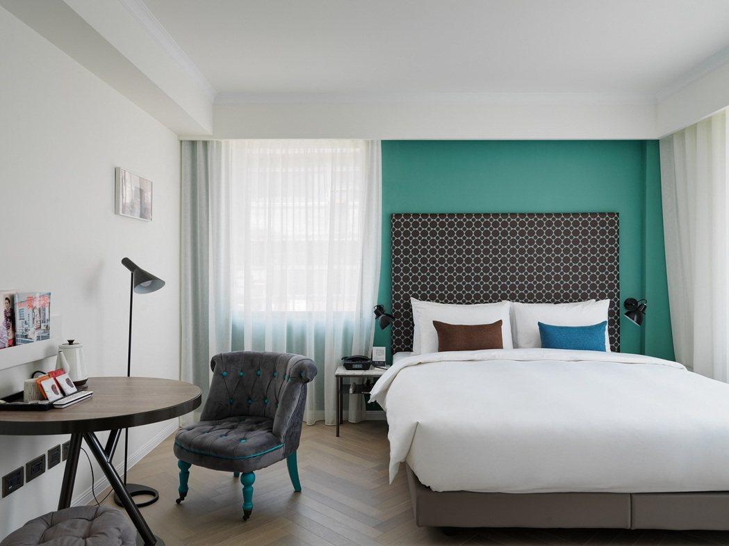 台北市大安區富邦藝旅Folio Hotel。 Airbnb /提供