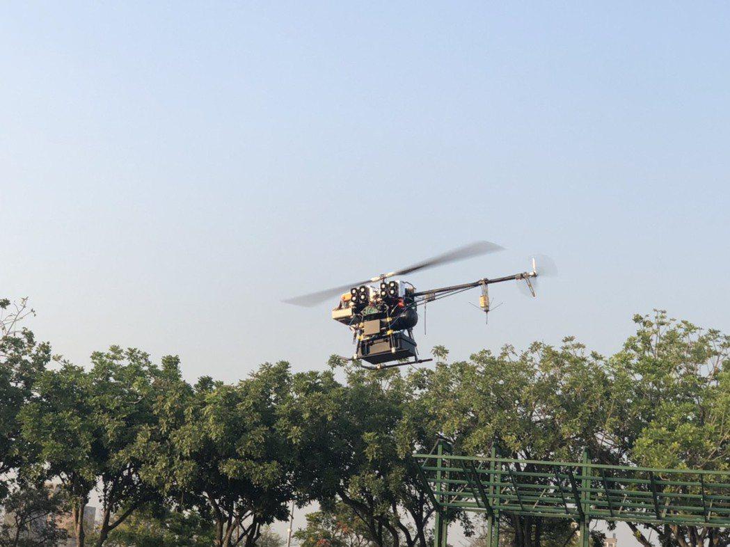 田屋科技與工研院材化所合作之燃料電池無人機飛行展示物資運送流程。台經院/提供