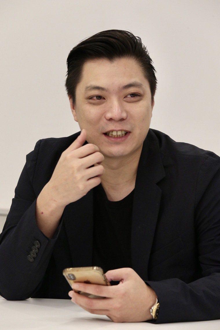 KC.WIN-WIN總經理蔡涵任。記者黃義書/攝影