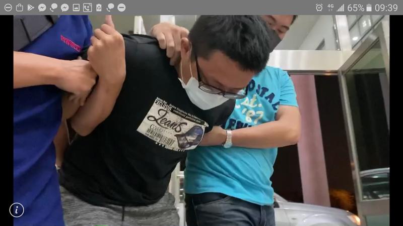 長榮大學外籍生遭殺害凶嫌送辦。記者周宗禎/翻攝