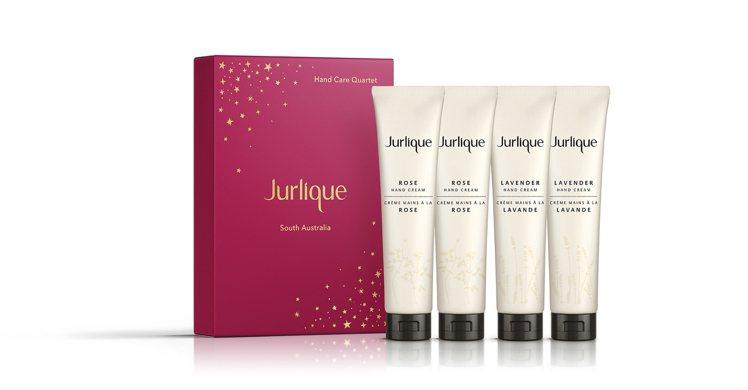 Jurlique純淨護手霜禮盒:玫瑰護手霜 40ml X 2、薰衣草護手霜 4...