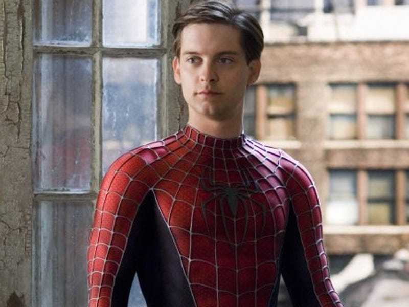 陶比麥奎爾主演的「蜘蛛人」片集,曾在全球各地大熱賣且受到歡迎。圖/摘自imdb
