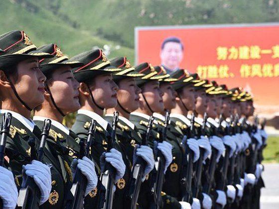 中共十九屆五中全會首次提出的「2027建軍百年目標」,引起熱議。新華社