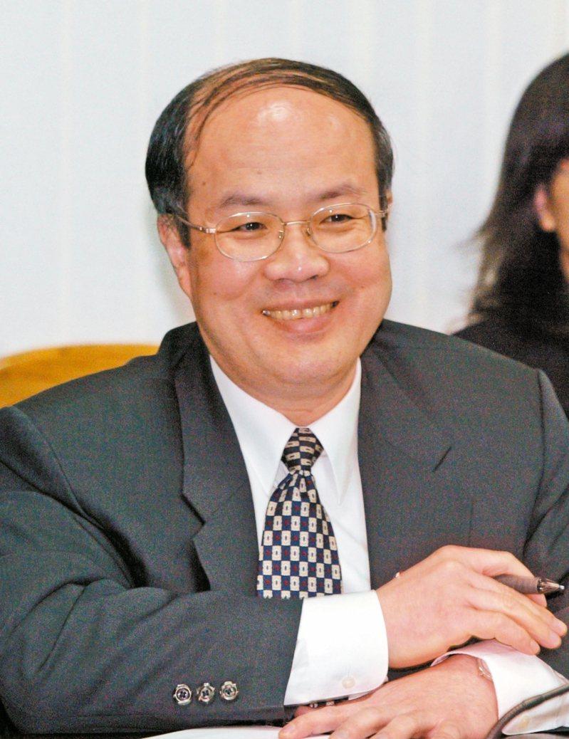 詹志宏續任海基會副董事長兼秘書長。本報資料照片