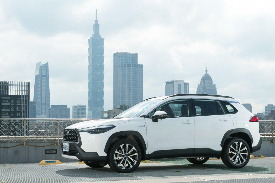 Corolla Cross擁有相當適合台灣市區的車身尺碼。 記者陳立凱/攝影