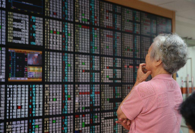 台股示意圖。 聯合報系資料照片/記者葉信菉攝影