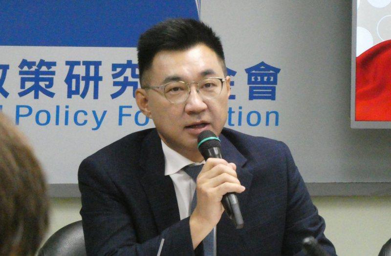 國民黨主席江啟臣。聯合報資料照片 記者周志豪/攝影