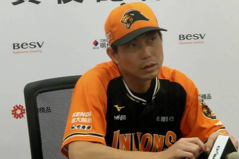 統一獅隊總教練林岳平。圖/聯合報系資料照片