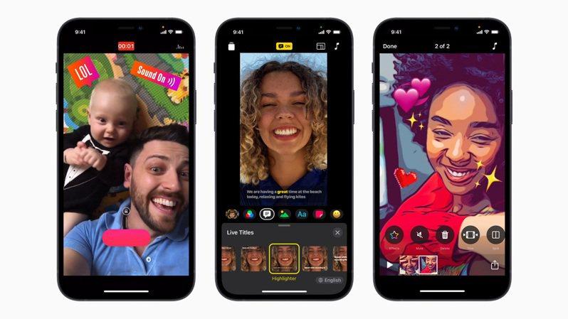 迎來歷來最大更新的可立拍3.0,讓每個人都能更輕鬆運用iPhone或iPad,隨手開始製作有趣的多段剪輯影片。圖/蘋果提供