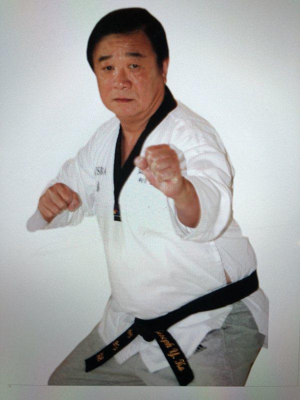 柯約瑟擅長柔道、空手道、劍道等,運動細胞出色。 圖/柯約瑟提供
