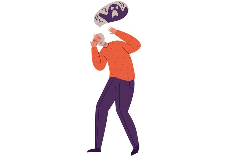 幻覺和妄想並非精神病人的專屬體驗,而是廣泛存在於人群之中。 圖/ingimage