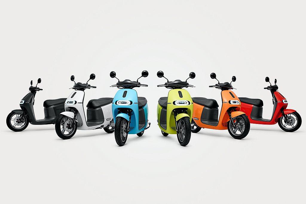 Gogoro旗下具備不同級距、多樣風格、色彩豐富等多款車型,搭配極具競爭力的價格...