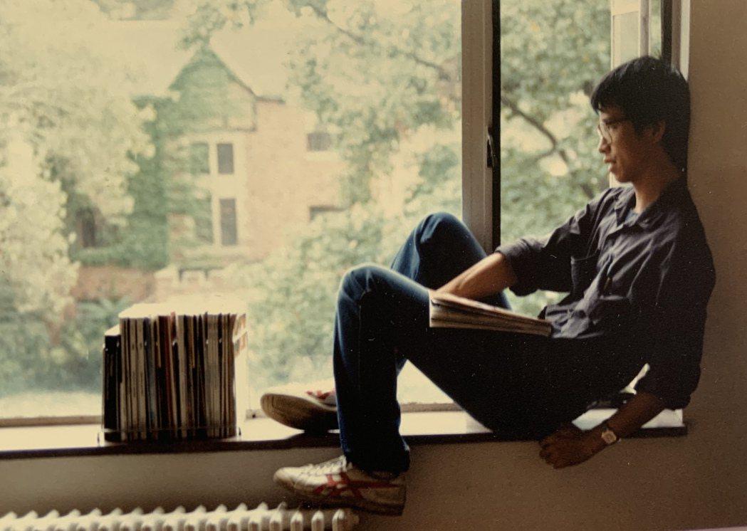 阮慶岳在費城賓大求學時的生活。圖/阮慶岳提供