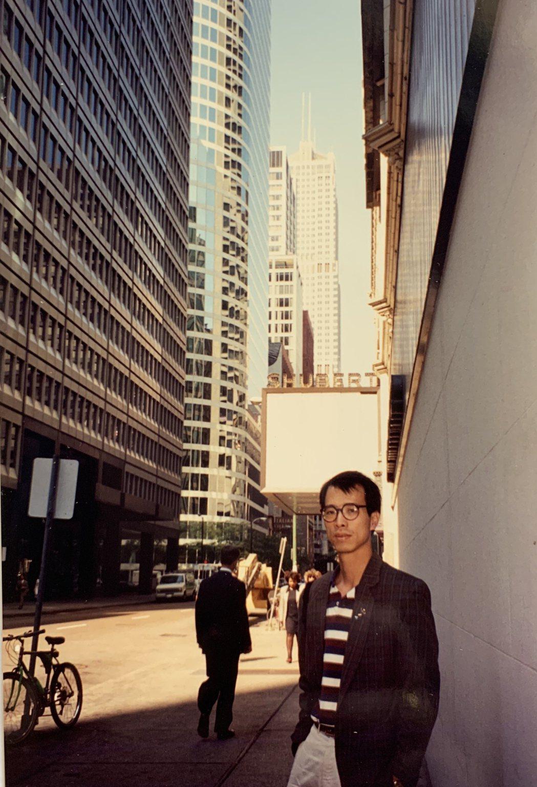阮慶岳於芝加哥工作時期吸收不少文化養分。圖/阮慶岳提供