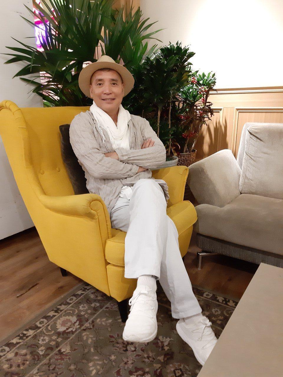 廖偉凡今上JET「命運好好玩」。記者林怡秀/攝影