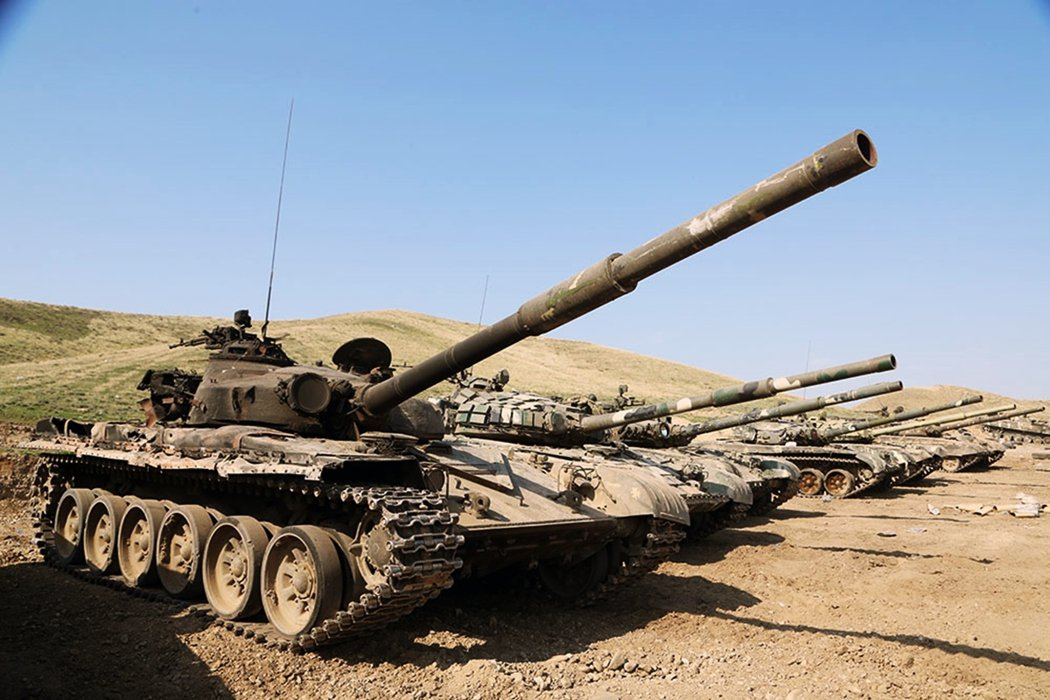 亞塞拜然在地面戰場取得重大進展,加上無人機的狙擊可能對亞美尼亞軍隊的士氣有所影響...