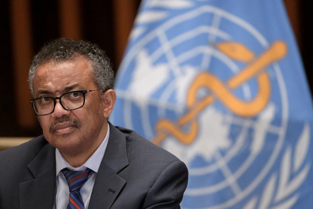 世界衛生組織秘書長譚德塞。 路透社