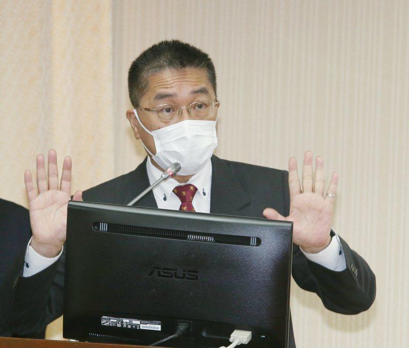 內政部部長徐國勇昨日出席立法院內政委員會,並針對大馬女學生命案作說明。聯合報系記者曾原信/攝影