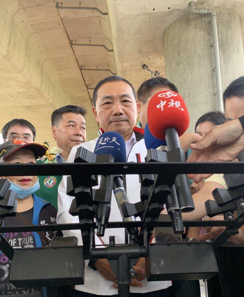 新北市長侯友宜。聯合報系記者張睿廷/攝影