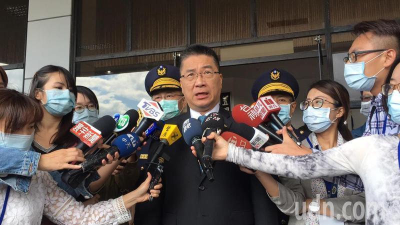內政部長徐國勇。本報資料照片