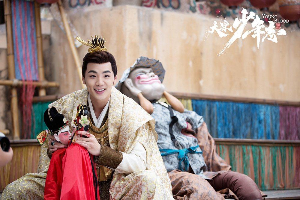 禾浩辰在「大宋少年志」飾演紈褲官二代。圖/中天提供