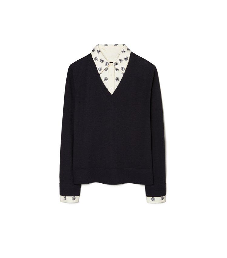 襯衫毛衣,16,900元。圖/Tory Burch提供