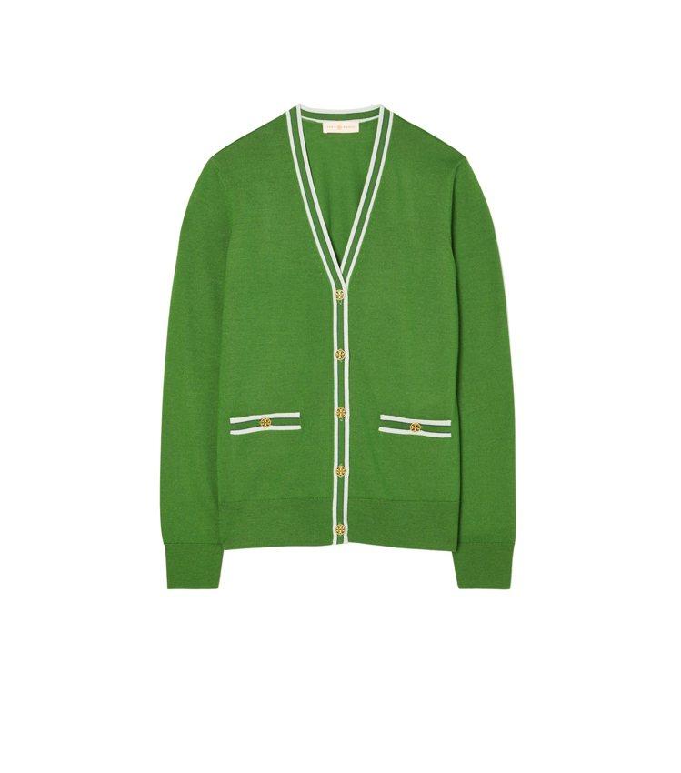 針織外套,10,900元。圖/Tory Burch提供