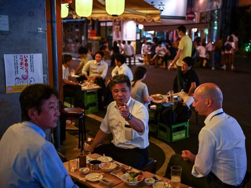 據試算,日本居酒屋業界市場規模高達7700億日圓。法新社