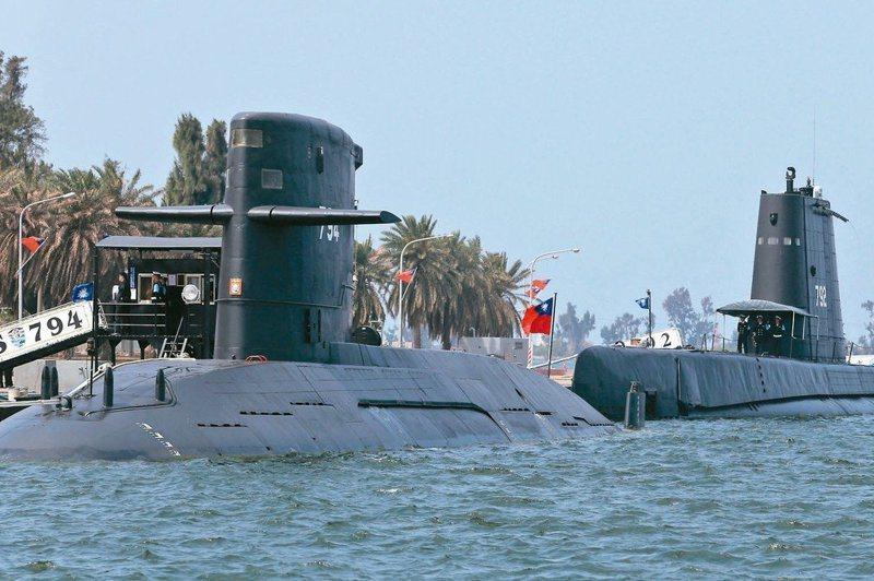 負責潛艦國造的台船已獲核定增資,但因海軍造船發展中心主任邵維揚已準備請辭主任,潛艦國造開工日將延後至11月底。 圖/聯合報系資料照片