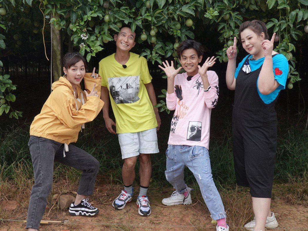 浩子(左)和阿翔主持民視「綜藝新時代」。圖/民視提供