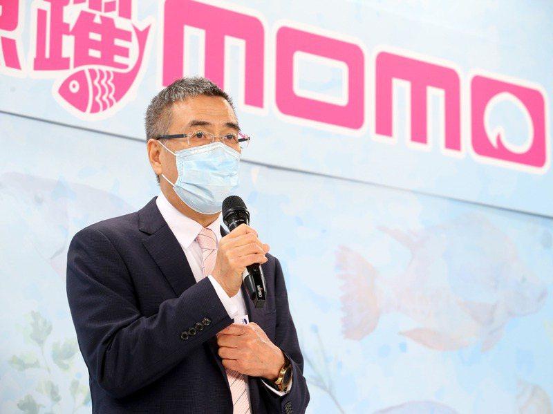 momo董事長林啟峰發下豪語,期待momo成為台灣最大的零售業者,2022年將開始momo的併購年。 圖/聯合報系資料照片