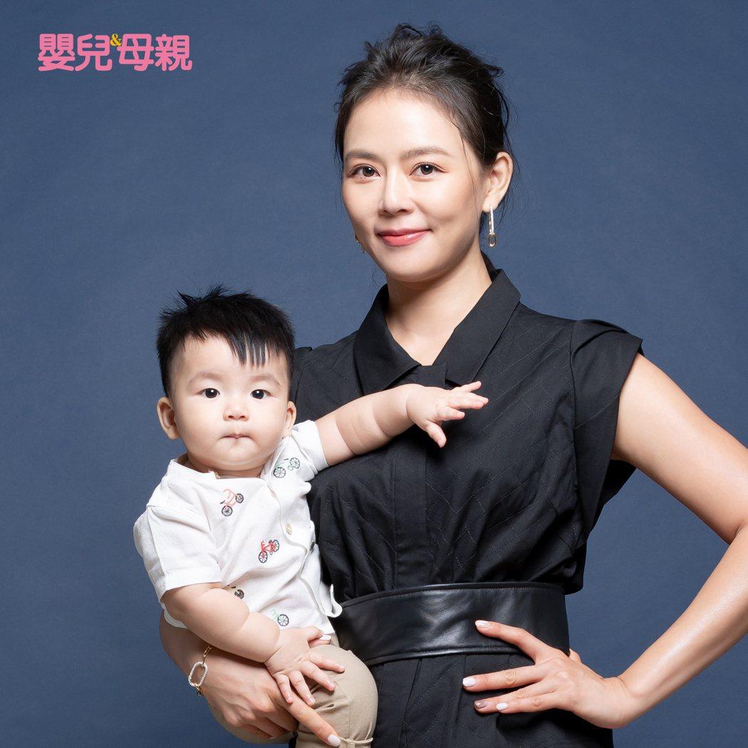 劉香慈形容二兒子Enzo是「小老公」。圖/嬰兒與母親提供