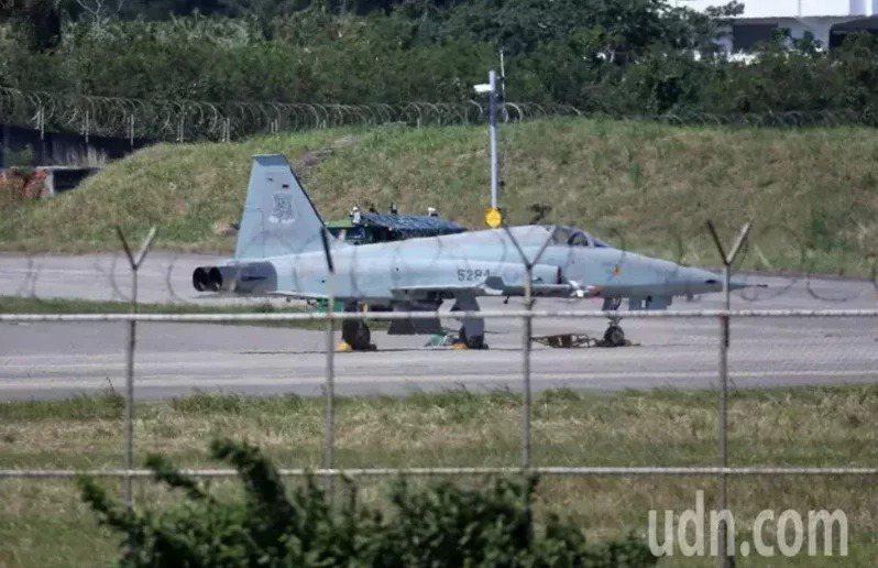台東志航基地F-5戰機。圖/本報資料照