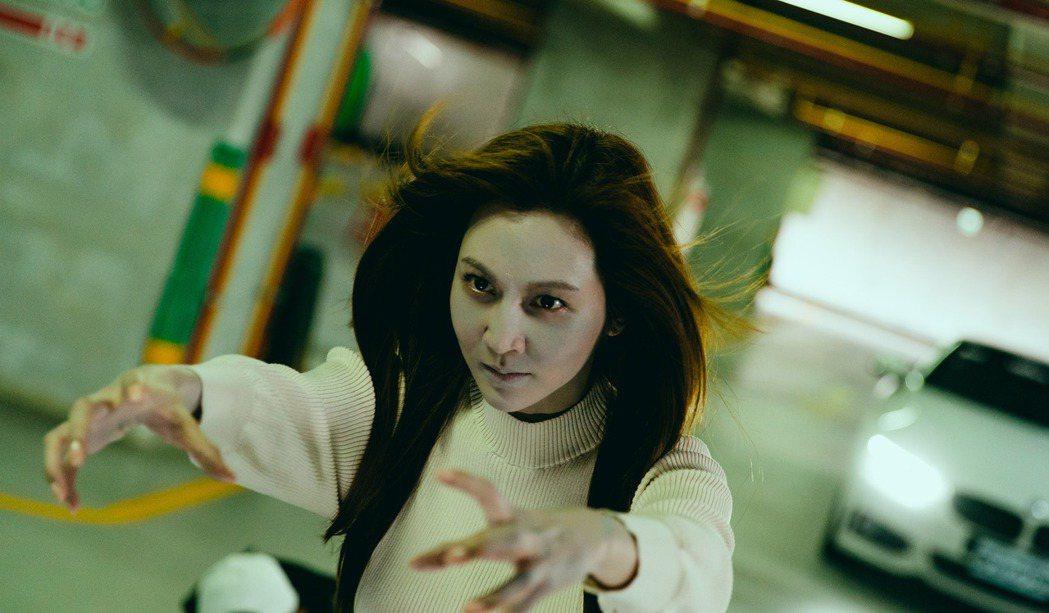 曾莞婷在「天巡者」中演女鬼。圖/台視提供