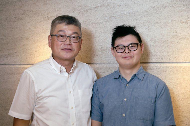 黃明裕的獨生子黃于軒(右)也是一個特殊的孩子,他說自己從事特殊牙醫治療的初心就是...