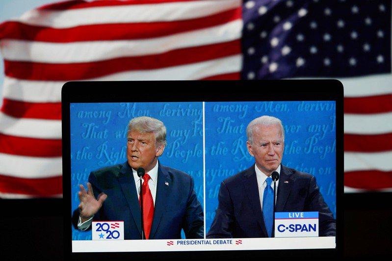 美國大選將於11月3日(台灣時間11月4日)進行開票,川普(左)、拜登(右)誰能成為「美國隊長」,引發各界關注。 新華社