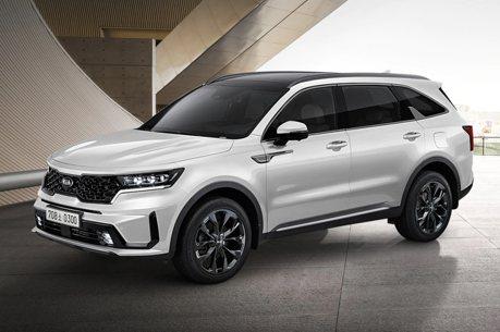 鞏固2020國產休旅冠軍地位 Kia Sorento 2.5升汽油渦輪韓國正式推出!