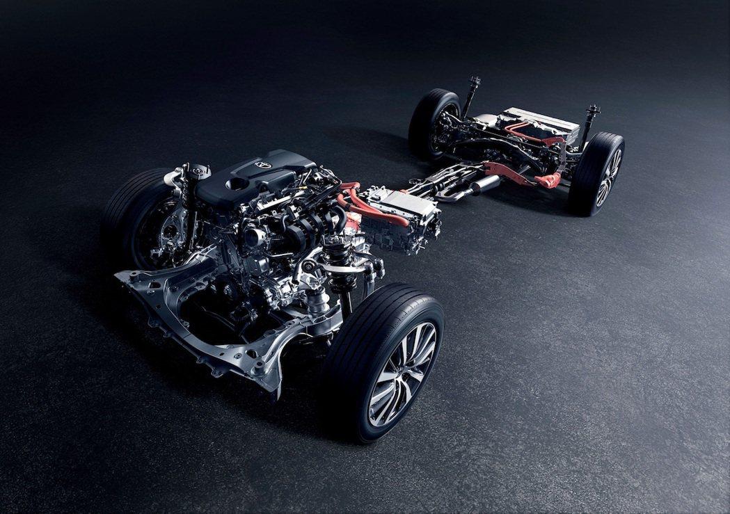 2.5升四缸Hybrid(鎳氫)系統。 圖/Toyota.jp提供