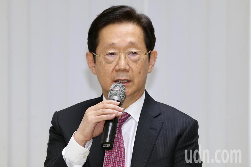 受到大同市場派推舉,林文淵擔任新任大同董事長。記者林伯東/攝影
