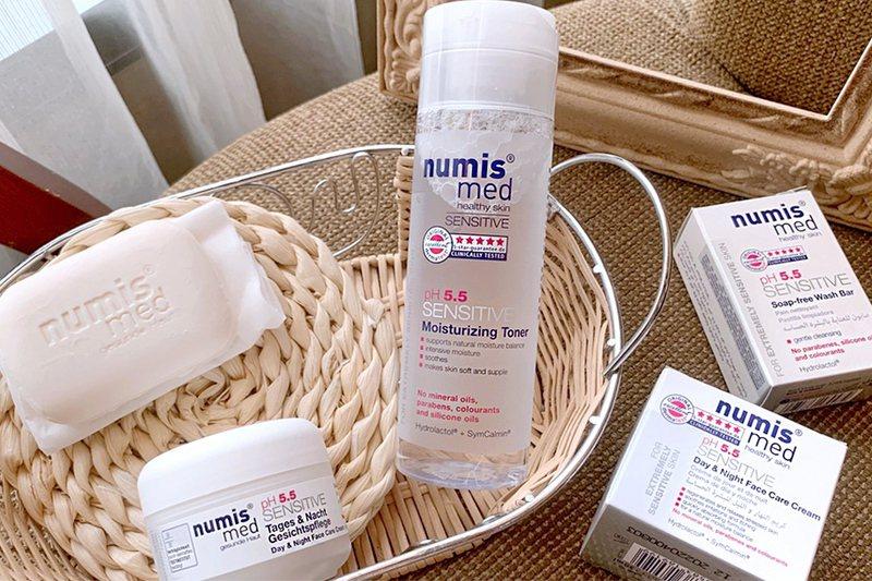 「pH5.5」是維持肌膚的關鍵密碼。德國Numis med樂美思/提供