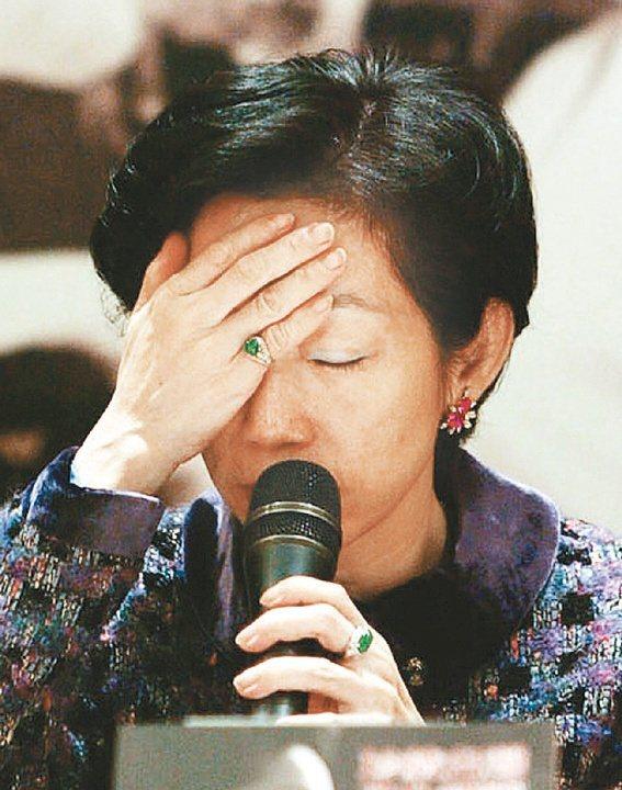 國務機要費案偵結,根據陳瑞仁調查,陳水扁與吳淑珍(圖)共犯貪污治罪條例的「利用職務上之機會詐取財物罪」。圖/聯合報系資料照片