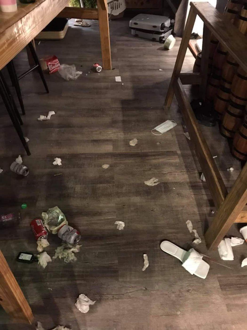 台東綠島民宿遭破壞,老闆痛心發文「身為公眾人物行為卻是如此」。圖/翻攝自就是愛綠...